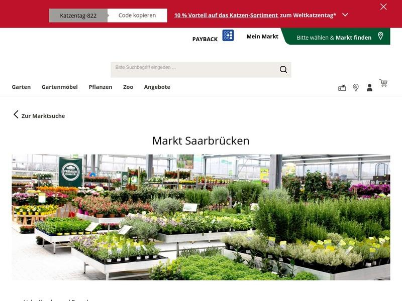Screenshot von https://www.dehner.de/market/dehner-gartencenter-saarbruecken-guedingen/